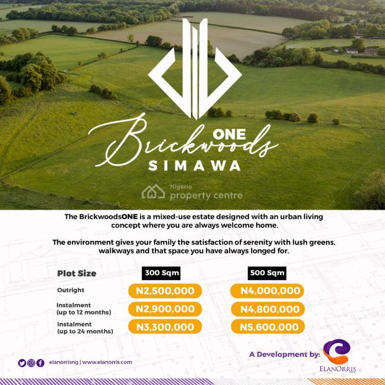 500sqm of Dry Land, Simawa, Ogun, Residential Land for Sale