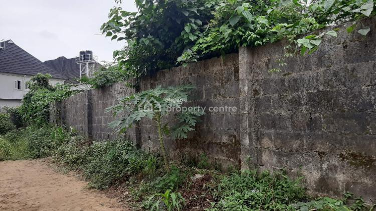One and a Half Plot of Residential Land in an Estate, Centenary Estate, Shell Cooperative, Eliozu, Port Harcourt, Rivers, Residential Land for Sale