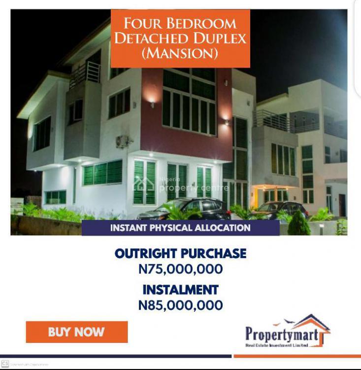 4 Bedrooms Detached Duplex (mansion), Citiview Estate, Arepo, Ojodu, Lagos, Detached Duplex for Sale