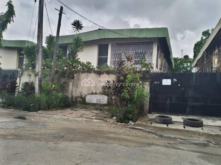 5 Bedrooms Semi Detached House, 2 Bedrooms Rear Flat with Undeveloped 320sqm Land, Off Adeniyi Jones, Ikeja, Lagos, House for Sale