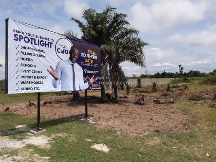 Commercial Plot of Land Facing The Lftz Expressway, Facing Free Trade Zone Road, Osoroko, Ibeju Lekki, Lagos, Commercial Land for Sale