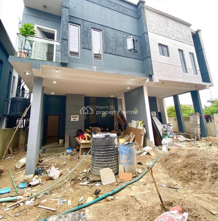 Brand New 3 Bedroom Semi Detached Duplex with a Room Bq, 2nd Toll Gate, Lekki, Lagos, Semi-detached Duplex for Sale