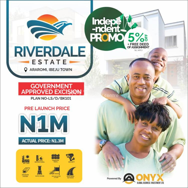 Biggest Land Deal with Government Approved Excision for High Roi, Araromi, Akodo Ise, Ibeju Lekki, Lagos, Residential Land for Sale