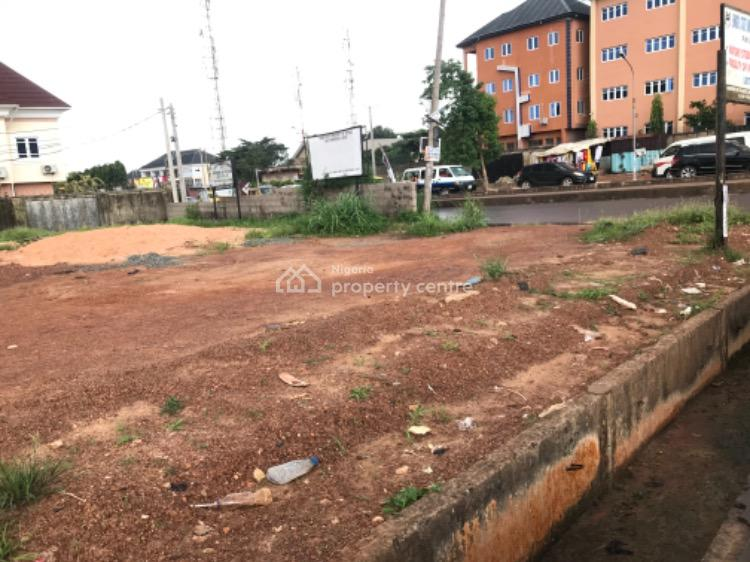 1000sqm Strategic Corner Plot, Nkpokiti Road, Close to Msp, Independence Layout, Enugu, Enugu, Mixed-use Land for Sale