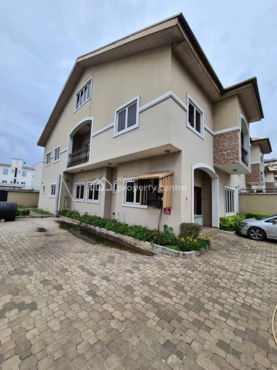 Decent  3 Bedroom Semi Detached Duplex., Phase 1, Osborne, Ikoyi, Lagos, Semi-detached Duplex for Rent