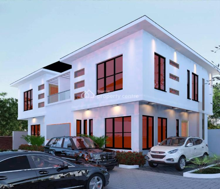 Several Units of 4 Bedroom All Ensuite Terrace Duplexes, Conservation Road, Chevron Drive, Lekki, Lagos, Terraced Duplex for Sale