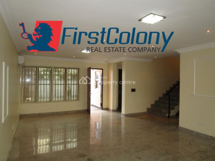 Grandiose, Serene, 4 Bedroom Terraced Duplex with Excellent Facilities, Residential Zone, Banana Island, Ikoyi, Lagos, Terraced Duplex for Rent