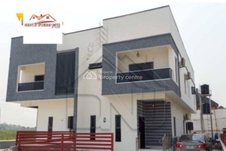 New and Semi Finished Three Bedroom Terrace Duplex., Bogije, Ibeju Lekki, Lagos, Terraced Duplex for Sale