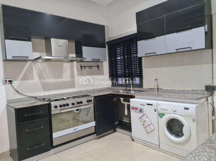 Luxury and Fitted 3 Bedroom Apartment with Boys Quarter, Agungi, Lekki, Lagos, Flat for Rent
