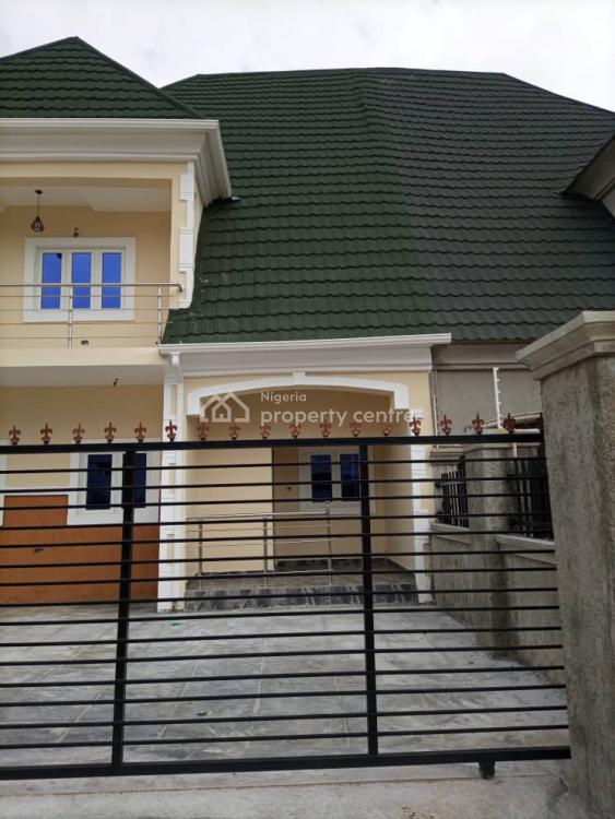 Brand New 4 Bedrooms Semi Detached Duplex with 2 Maids Room, By Dunamis Hq., Lugbe District, Abuja, Semi-detached Duplex for Sale