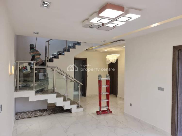 Modish 4 Bedrooms Townhouse with a Private Compound, Life Camp, Abuja, Terraced Duplex for Sale