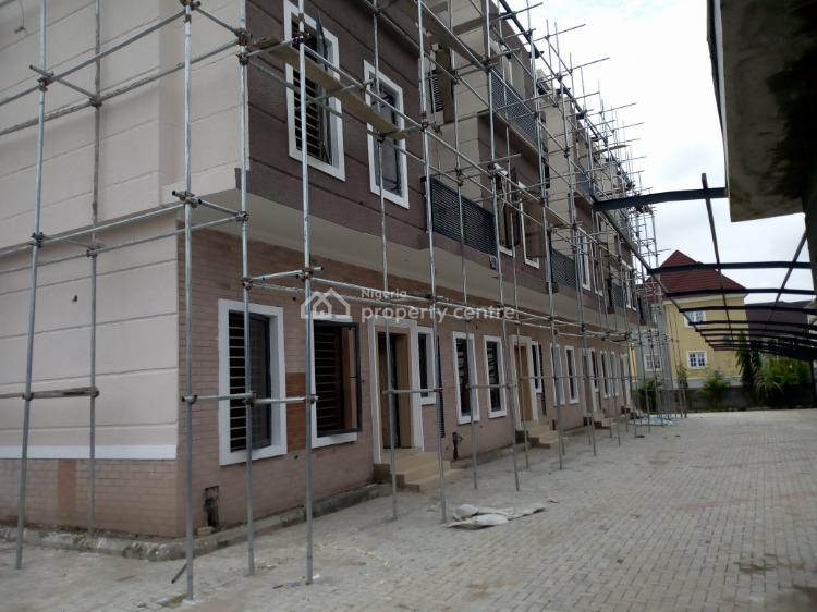 Brand New and Lovely Finished 4 Bedroom Terraced Duplex with Bq., Lifecamp By Berger Clinic, Life Camp, Abuja, Terraced Duplex for Sale