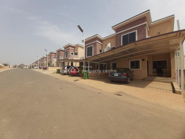 Well Located & Very Spacious 4 Bedroom Terrace House, Life Camp, Abuja, Terraced Duplex for Sale