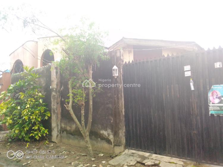 a Bungalow with 2 Different Two Bedrooms on a Half Plot of Land, Jubril Yusupp Drive, Nuraini Yusupp Road, Kola Bus-stop, Agbado Ijaiye, Alagbado, Ifako-ijaiye, Lagos, Block of Flats for Sale
