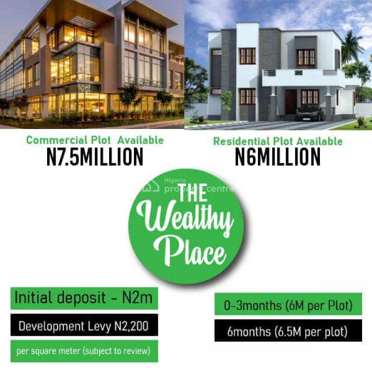 a Plot of Commercial Plot, in Front of The Free Trade Zone, Igando Orudu, Ibeju Lekki, Lagos, Land for Sale