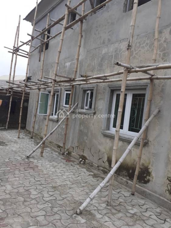 Uncompleted 5 Bedrooms Duplex with 2 Nos 3 Bedrooms Flat, Unity Estate, Badore, Ajah, Lagos, Block of Flats for Sale