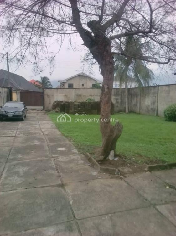Fully Fenced 1 Plot of Land Area with Federal Light, Peal Garden Shell Cooperative, Eliozu, Port Harcourt, Rivers, Residential Land for Sale