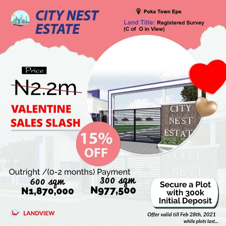 Land, City Nest Estate, Epe, Lagos, Residential Land for Sale