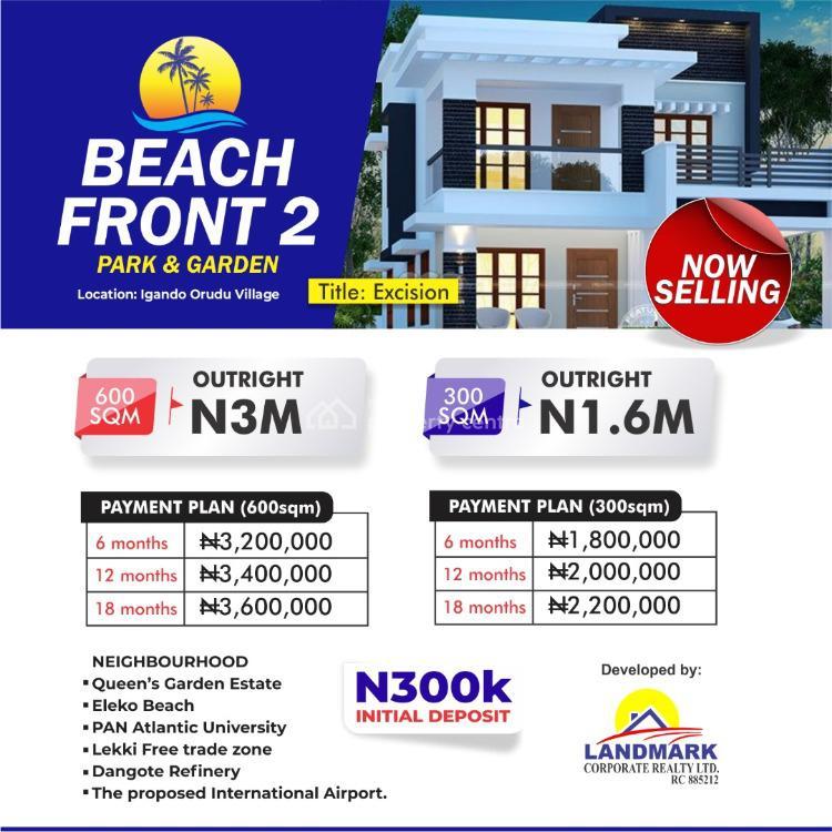 High Profit Land, Beachfront Park & Gardens Estate 2, Eleko, Ibeju Lekki, Lagos, Land for Sale
