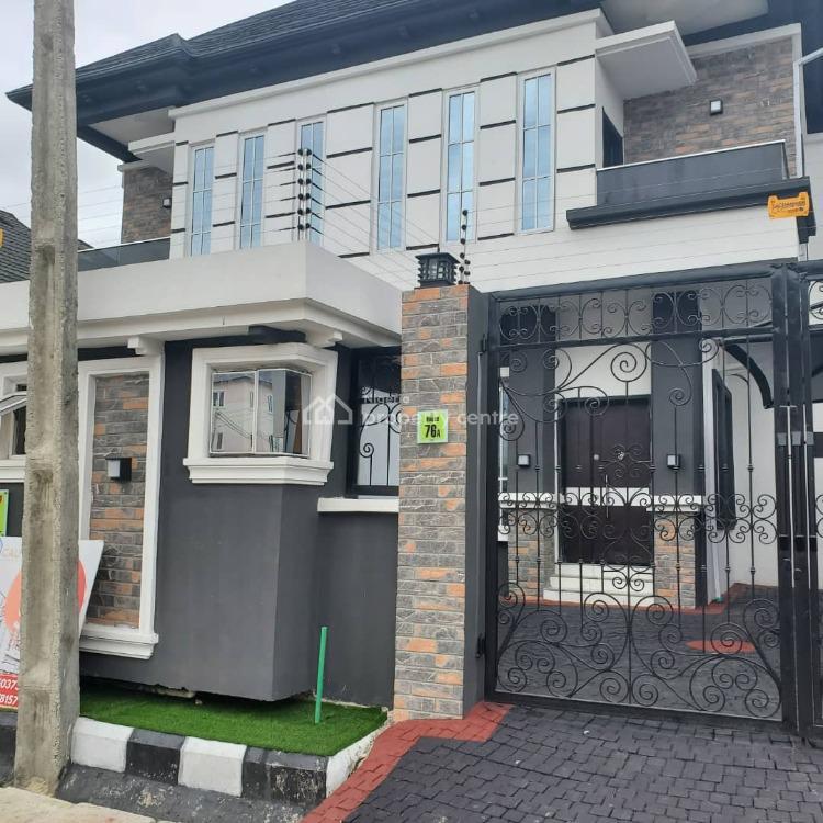 4 Bedroom Semi Detached Duplex Newly, Osapa, Lekki, Lagos, House for Sale