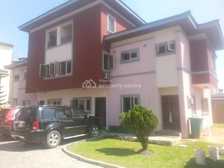 Tastefully Finished Four Bedrooms Apartment with Maids Quarter, Osapa London, Lekki, Lagos, Detached Duplex for Sale