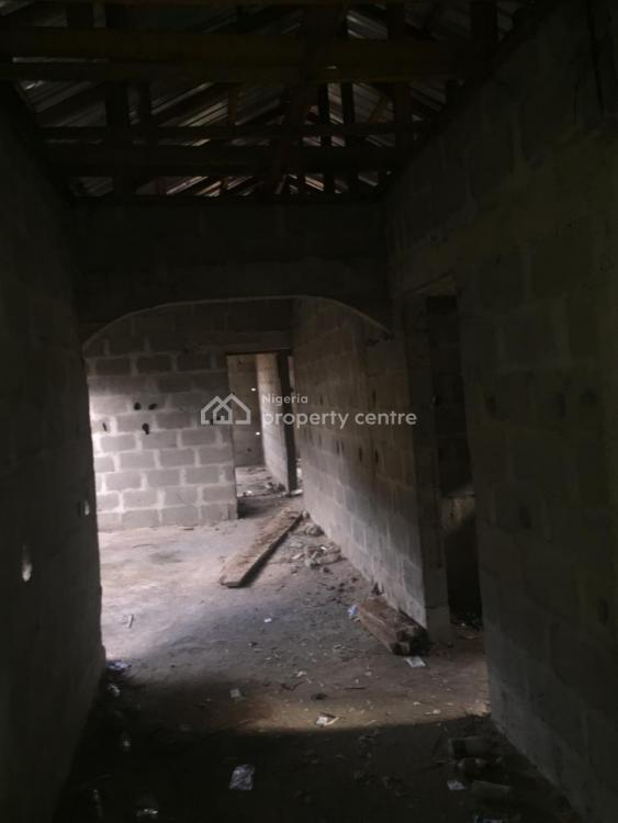 Half Plot of Land with 3 Bedrooms Newly Built Bungalow, Adegbenro Street, Soluyi, Gbagada, Lagos, Residential Land for Sale