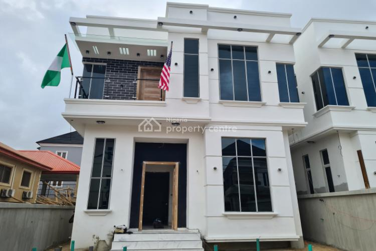 Luxuriously Finished & Spacious 5 Bedroom Detached with Bq, Osapa, Lekki, Lagos, Detached Duplex for Sale