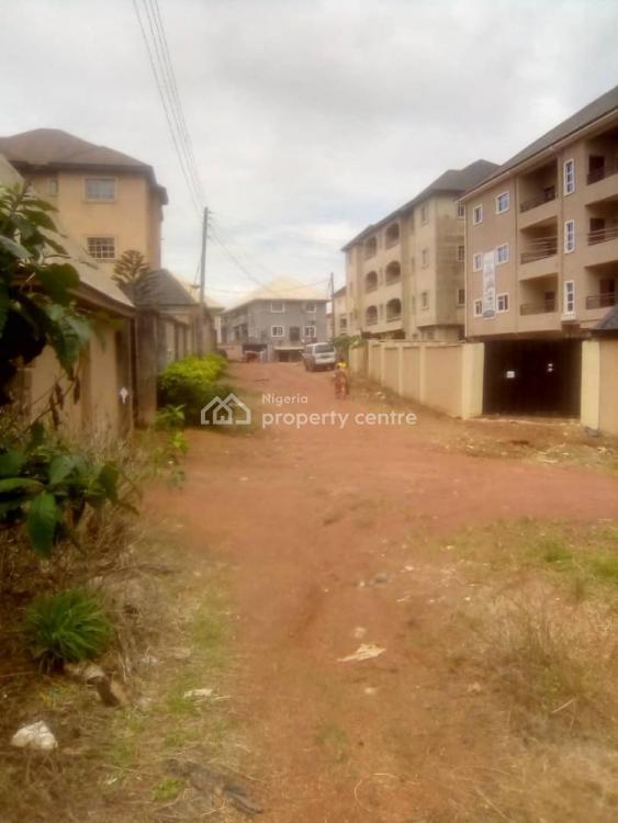 Standard Plot of Land Fenced with Gate, Monarch Avenue Behind Lomalinda Estate, Independence Layout, Enugu, Enugu, Residential Land for Sale