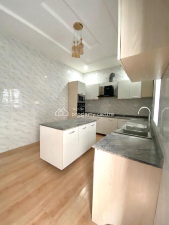 Spacious 5 Bedroom Detached Duplex with Bq., Chevron, Lekki, Lagos, Detached Duplex for Rent