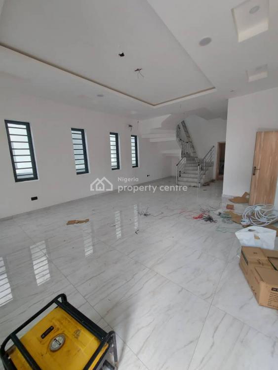 Beautifully Built 5 Bedroom Fully Detached Duplex with Bq, Chevron, Lekki, Lagos, Detached Duplex for Sale