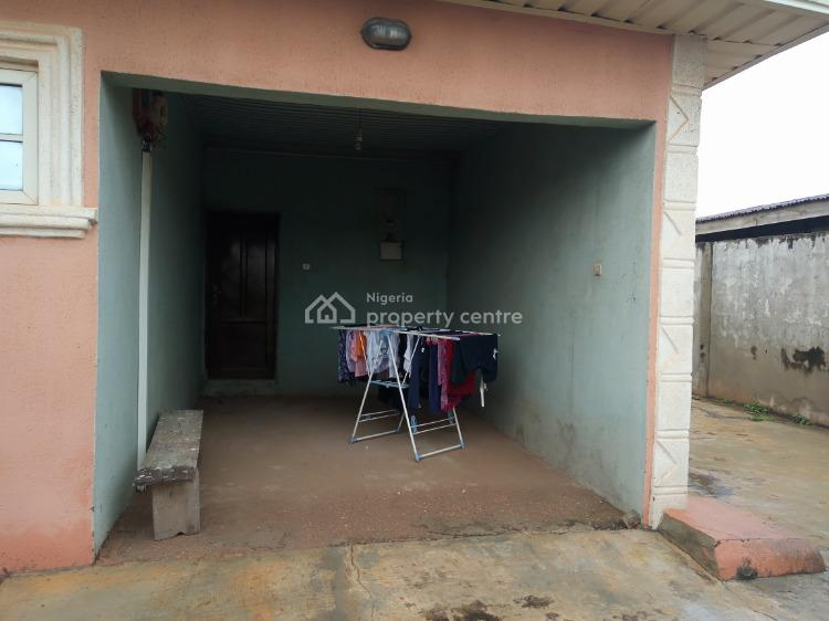 4 Bedroom Bungalow with 2 Bedroom Bq and a Shop in a Good  Environment, Gbekuba, Apata, Ibadan, Oyo, Detached Bungalow for Sale