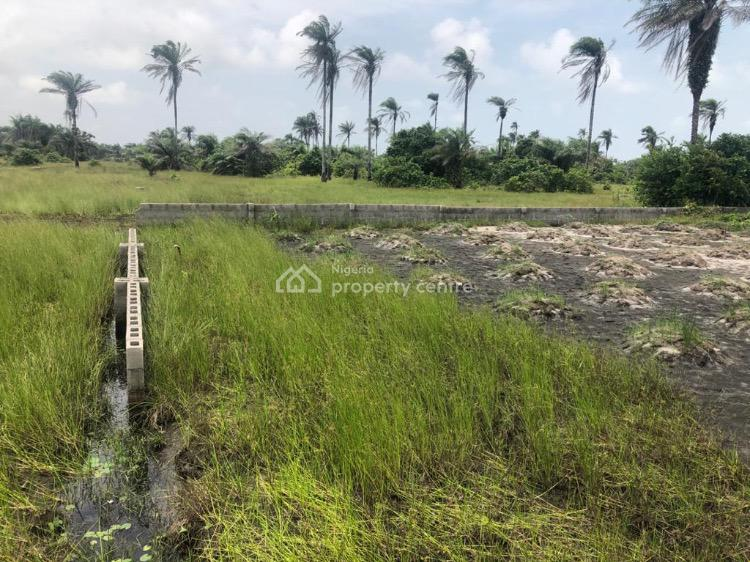 2 Plots of Land with Incomplete Building, Perimeter Fence and Borehole, Lighthouse Ville Estate, Apakin, Ibeju Lekki, Lagos, Mixed-use Land for Sale
