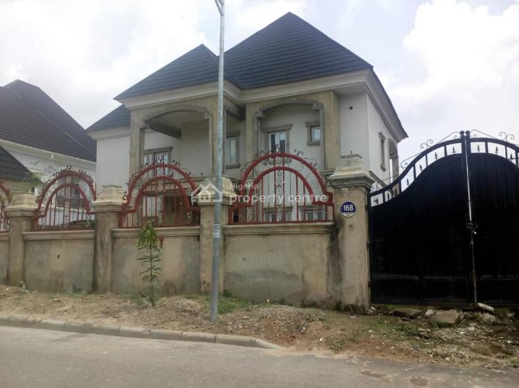 5 Bedroom Duplex with 2 Rooms Bq at 90% Completion Stage, Efab Metropolis (blue Fountain) Estate, Gwarinpa, Abuja, Detached Duplex for Sale