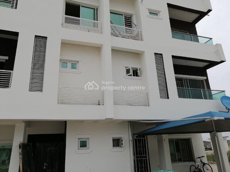 3 Bedrooms Terrace in a Fully Serviced Estate with 24 Hours Power, Meridian Park Estate, Sangotedo, Ajah, Lagos, Terraced Duplex for Sale