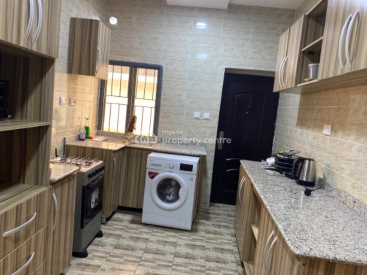 2 Bedrooms Well Furnished 24 Hours Water and Power, Available Now, By Romay Gardens Estate, Ilasan, Lekki, Lagos, Flat Short Let