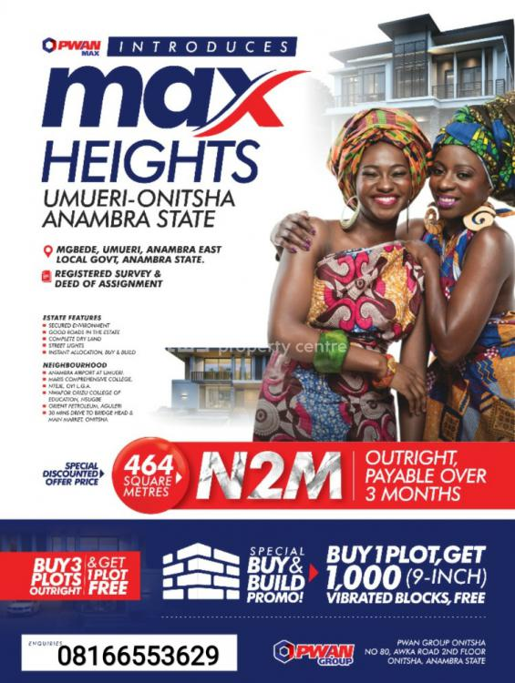 Land, Max Height, Umueri, Onitsha, Anambra, Mixed-use Land for Sale