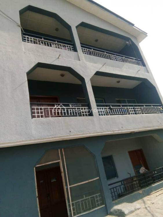Block of 6 Flats in a Secured & Serene Estate Close to Road, Parkview Estate, Ago Palace, Isolo, Lagos, Block of Flats for Sale