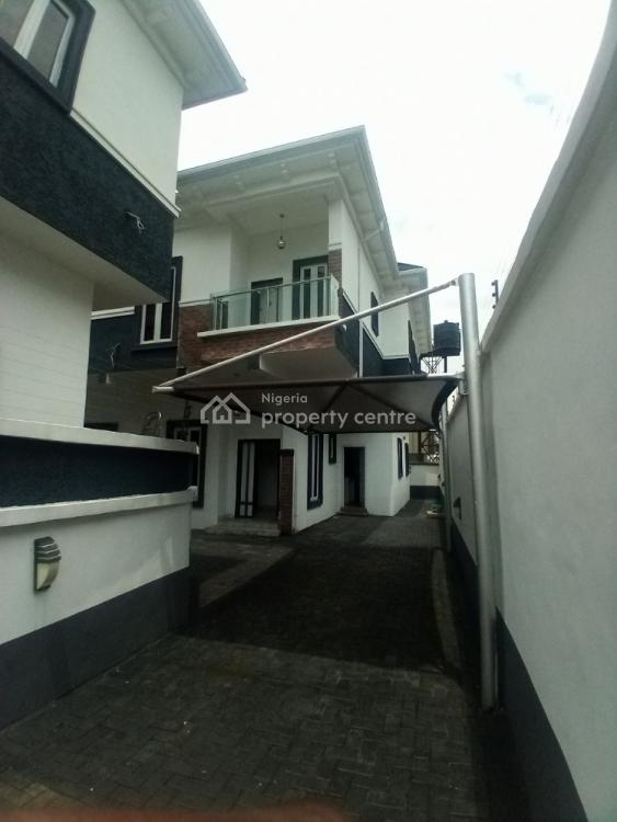 Brand New 4 Bedroom Duplex with Bq, Chevy View Estate, Chevron, Lekki, Lagos, Semi-detached Duplex for Rent
