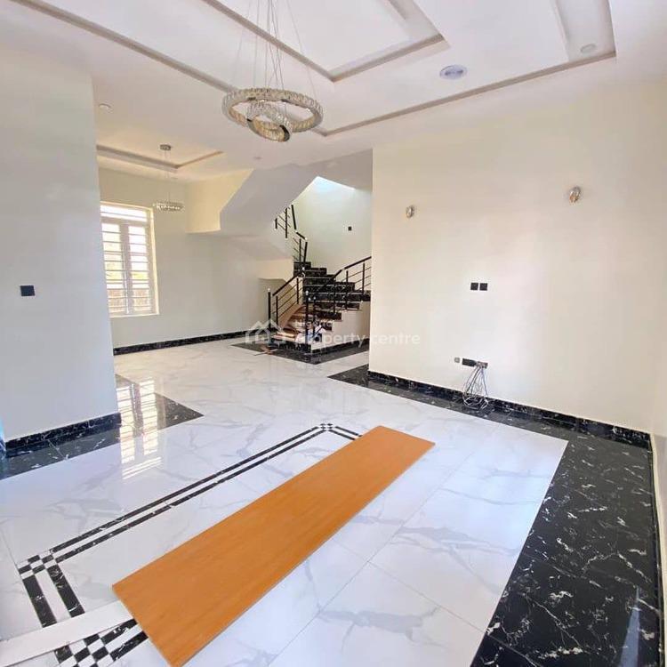 Experience a Contemporarily Built 5 Bedroom Sleek Detached House, Orchid Road, Lekki, Lagos, Detached Duplex for Sale