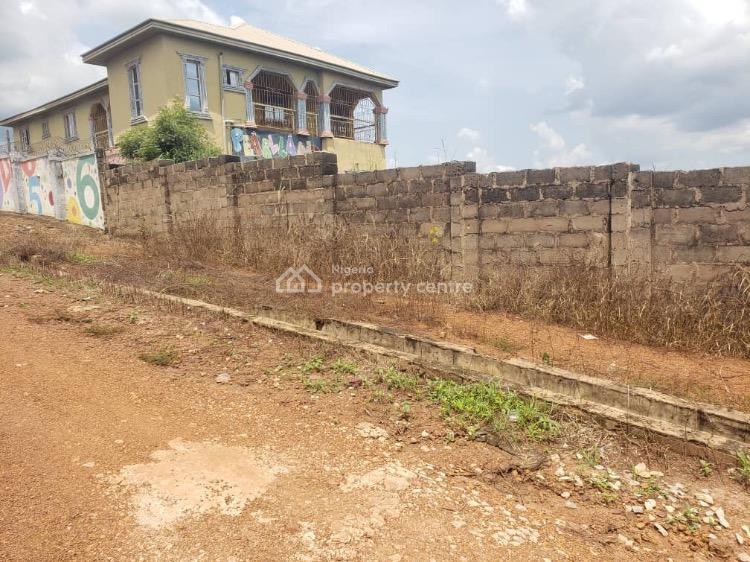 Massive 4 Plots of Land Fenced with Gate, Before Omnipotent Church Off Old Airport Road, Thinkers Corner, Enugu, Enugu, Mixed-use Land for Sale