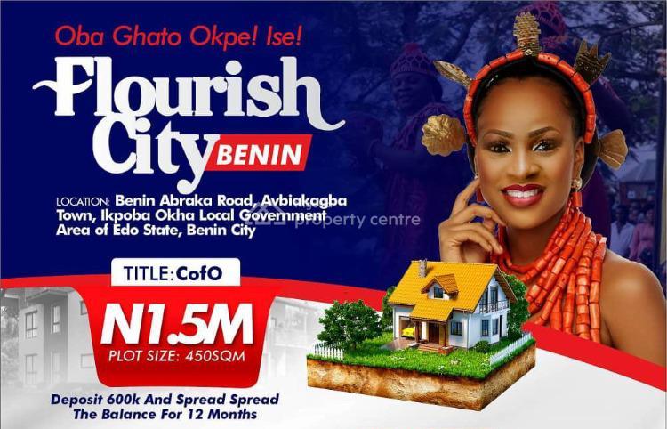 Land (flourish City Estate), Along Benin Abraka Road, Avbiakagba Town, Ikpoba Okha, Edo, Mixed-use Land for Sale