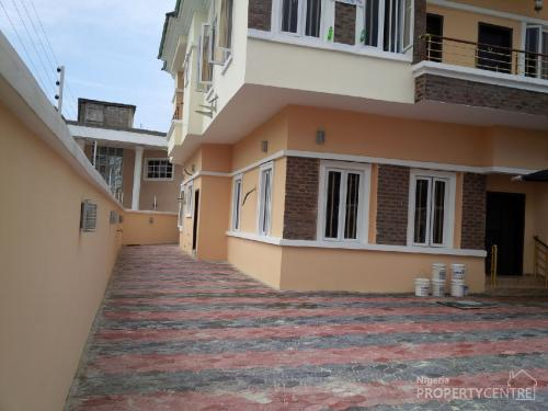 For Sale Brand New Magnificient 5 Bedroom Detached House With Boys Quarter Agungi Lekki