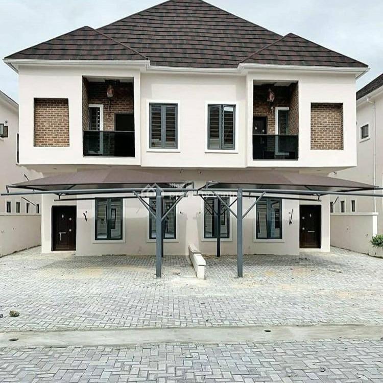 4 Bedroom Semi Detached, Ikota Lekki, Ikota, Lekki, Lagos, Semi-detached Duplex for Sale
