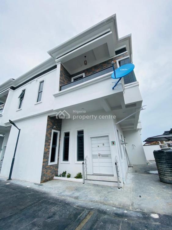 4 Bedroom Semi Detached Duplex with a Room Bq, Oral Estate, Ikota, Lekki, Lagos, Semi-detached Duplex for Sale