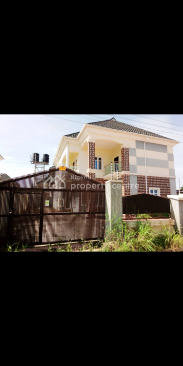 4 Bedrooms Detached Duplex with Bq on 500sqm in an Estate, Airport Road, Lugbe District, Abuja, Detached Duplex for Sale