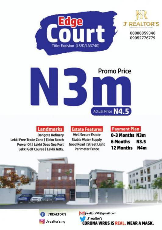 Estate Land Available, Olo-ogogoro Town, Ibeju Lekki, Lagos, Residential Land for Sale