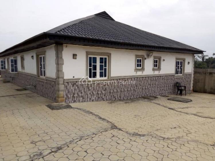 4 Bedroom Fully Detached Bungalow, Jajo Estate Phase1 Along Mowonla Road, Odogunyan, Ikorodu, Lagos, Detached Bungalow for Sale