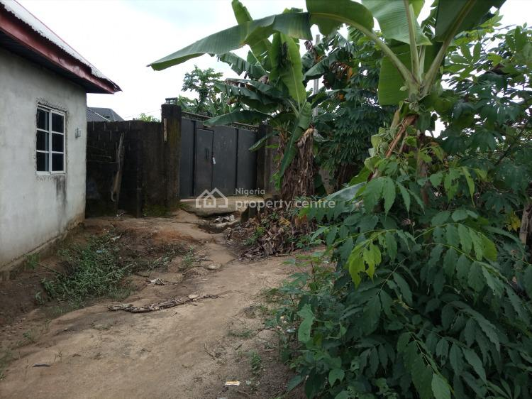 Well Located Half Plot of Dry and Firm Land, Corner Stone/ Off Nta Road, Uzuoba, Port Harcourt, Rivers, Residential Land for Sale