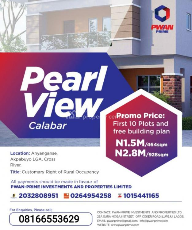 Dry Land, Pearl View, Calabar, Cross River, Mixed-use Land for Sale