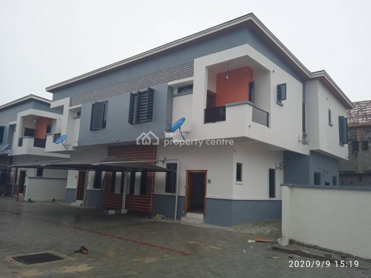 Luxury Finished 4 Bedroom Semi Detached Duplex with Bq, Edens Court, Chevron Drive, Lekki Expressway, Lekki, Lagos, Semi-detached Duplex for Sale